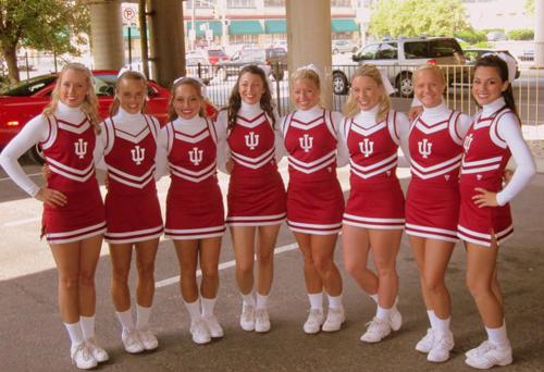 Indiana University Cheerleading